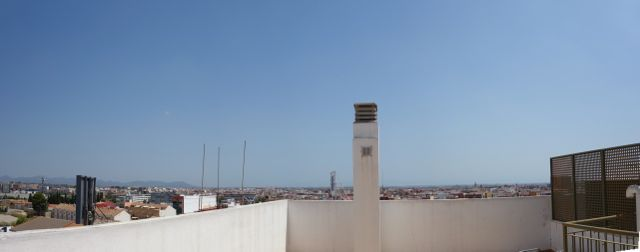 Duplex Attic with Panoramic Views of Valencia.